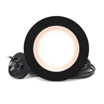 HPM DLI LED Downlight Cool White Black 5W 70mm