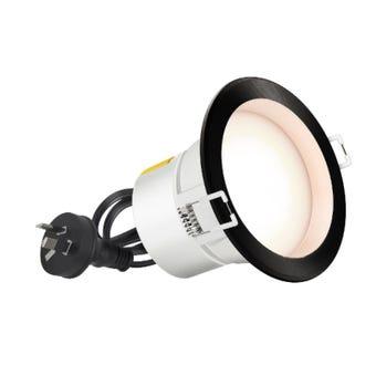 HPM DLI LED Downlight Warm White Black 5W 70mm