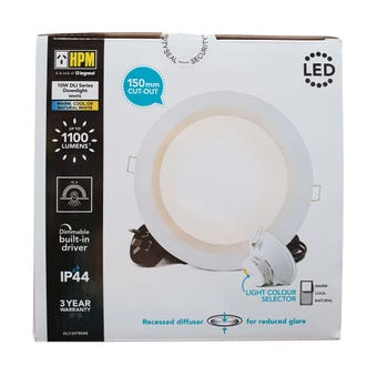 HPM DLI Dimmable Downlight 150mm
