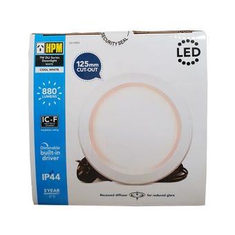 HPM LED Downlight 7W 125mm Cool White