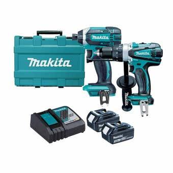 Makita 18V 3.0Ah Brushless Combo Kit - 2 Piece DLX2145