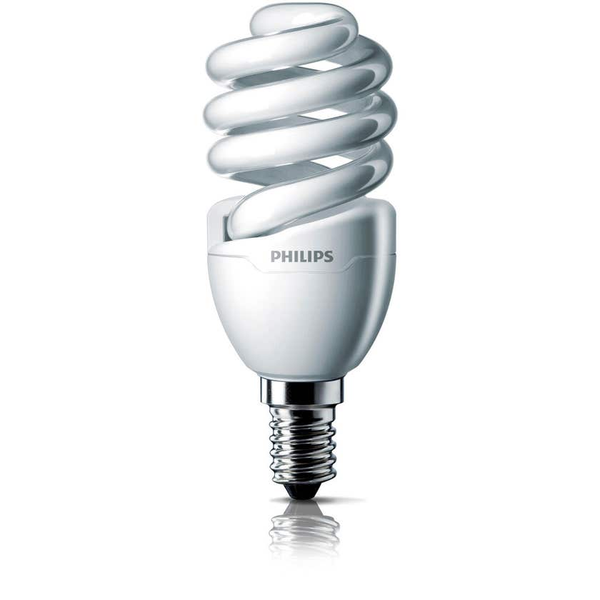 Philips Tornado Globe CFL 12W SES Warm White