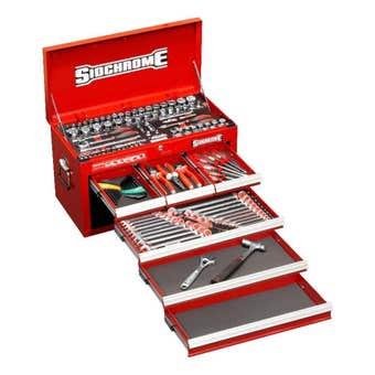 Sidchrome Tool Kit - 139 Piece
