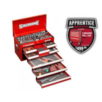 Sidchrome Tool Kit 204 Piece
