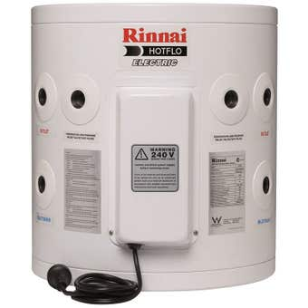Rinnai Hotflo Plug In Electric Hot Water Storage Tank Soft Water 1.8kW 25L