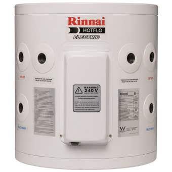 Rinnai Hotflo Electric Hot Water Storage Tank Soft Water 3.6kW 25L