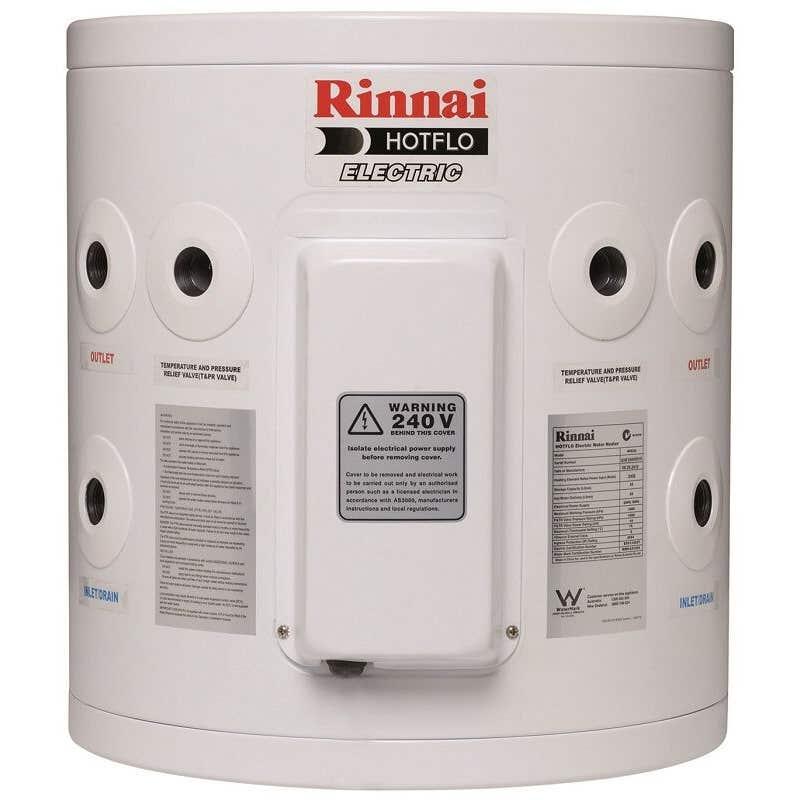 Rinnai Hotflo Electric Hot Water Storage Tank Hard Water 3.6kW 25L