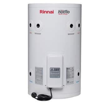 Rinnai Hotflo Plug In Electric Hot Water Storage Tank Soft Water 1.8kW 50L