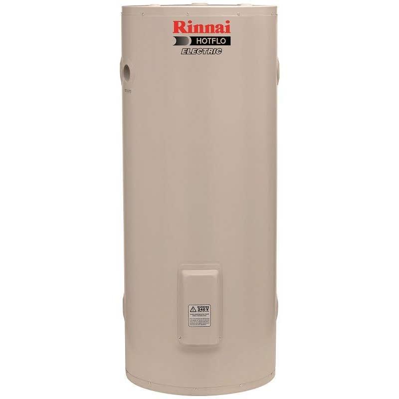 Rinnai Hotflo Single Element Electric Hot Water Storage Tank Soft Water 2.4kW 125L
