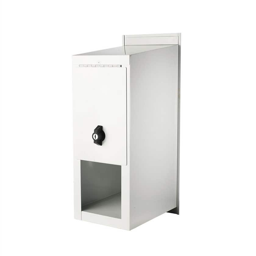 Sandleford Highlander Letterbox White