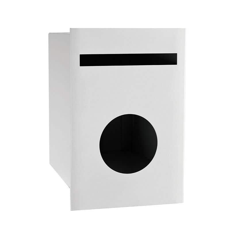 Sandleford Matilda Letterbox White