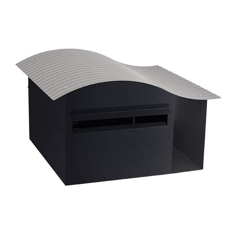 Sandleford Epic Letterbox Black/Woodland Grey