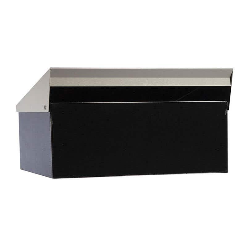 Sandleford Condo Letterbox Black/Silver