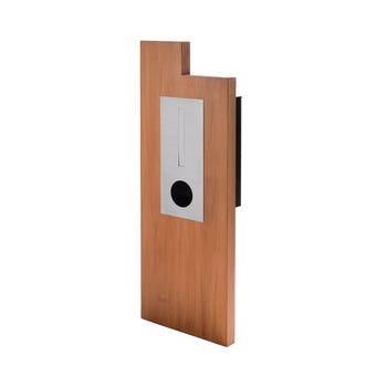 Sandleford Rialto Mailbox Pillar Timber Panel