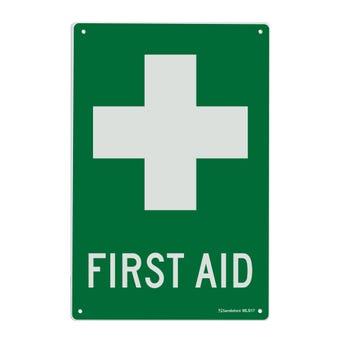 Sandleford Emergency First Aid Sign