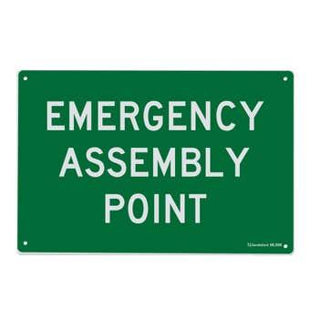 Sandleford Emergency Assembly Point Sign