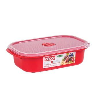 Decor Microsafe Oblong Container 900ml