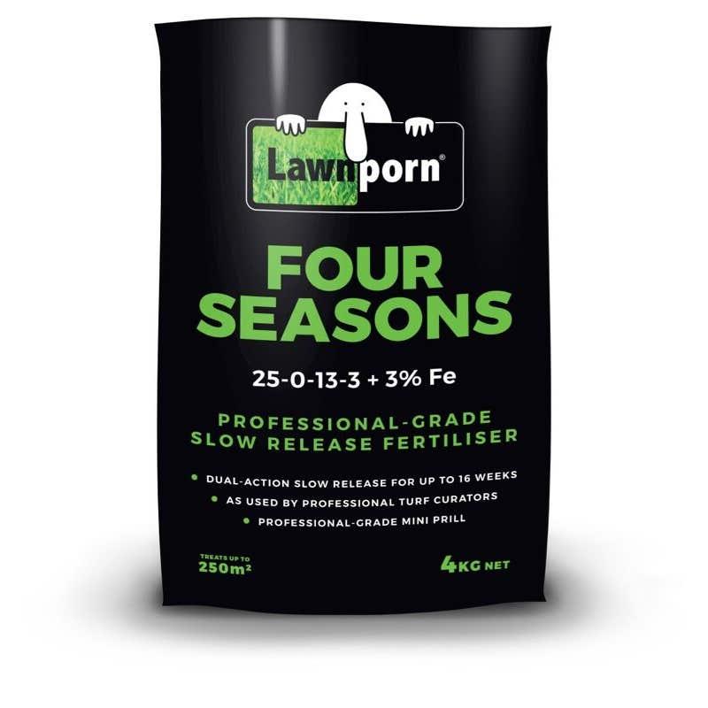 Lawn Porn Four Seasons Slow Release Fertiliser 4kg