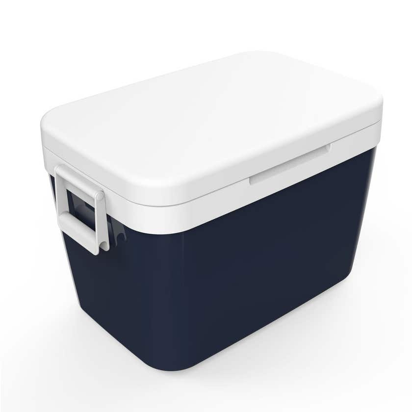 Portable Insulated Cooler Blue 45L