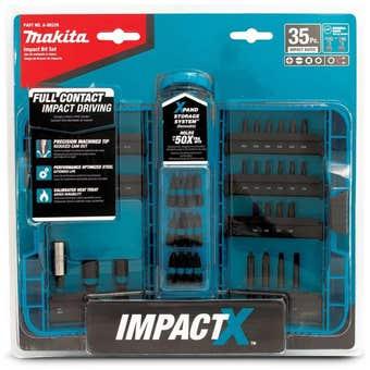 Makita Impact-X Driver Bit Set - 35 Piece