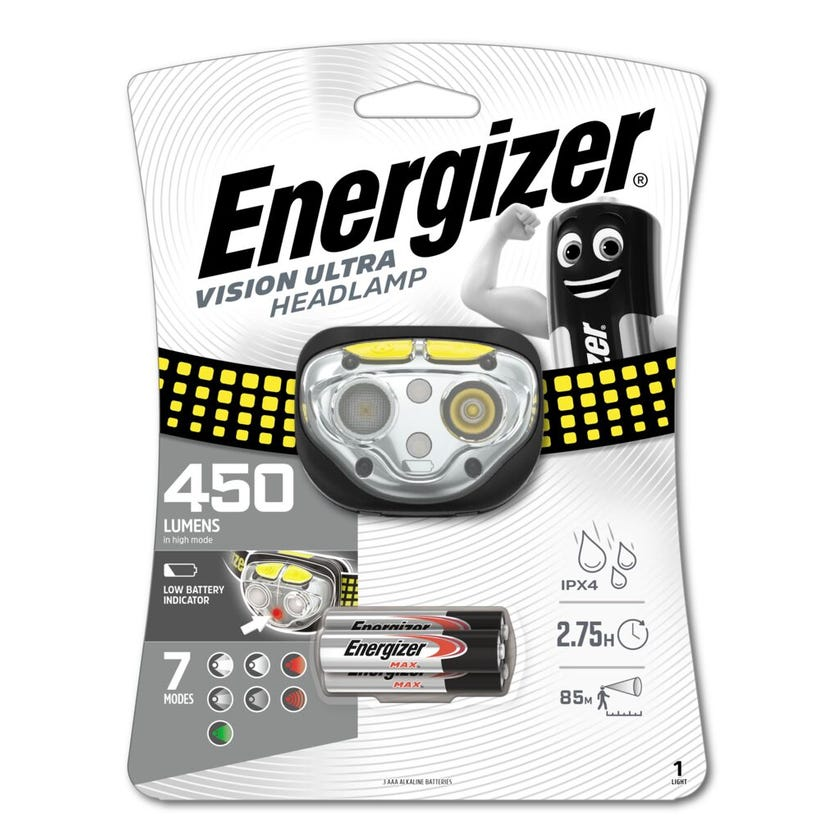 Energizer Headlight Ultra Vision HDE32