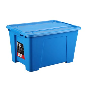 Buy Right® Storage Container Assorted Colours 52L