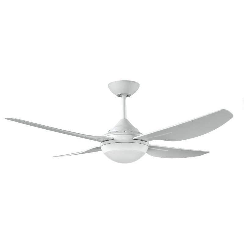 Ventair 4 Blade Fan 18W LED White 1220mm
