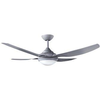 Ventair 4 Blade Fan 18W LED Titanium 1320mm