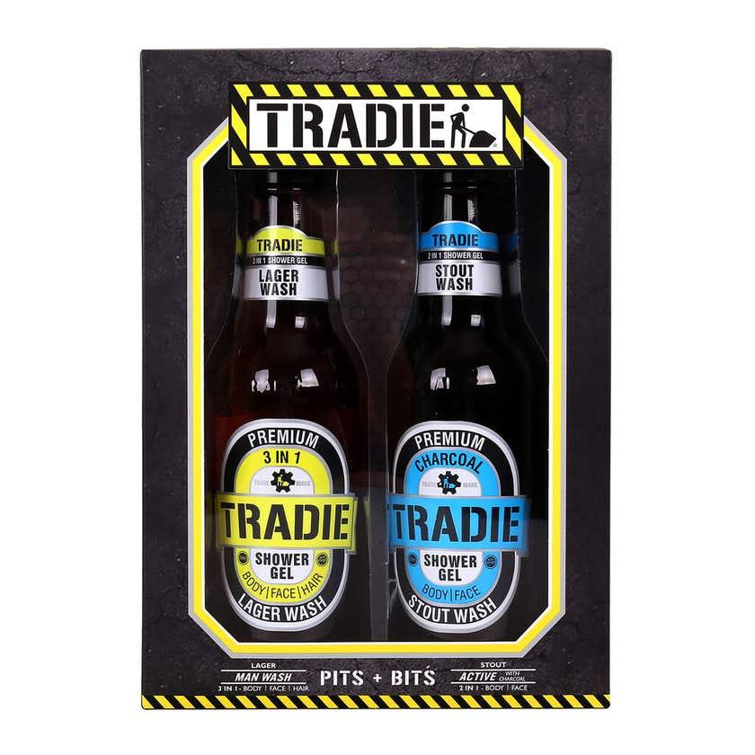 Tradie Beer Bottle Body Wash - 2 Pack