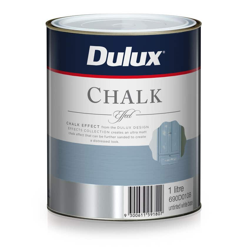 Dulux Design Effects Chalk White 1L