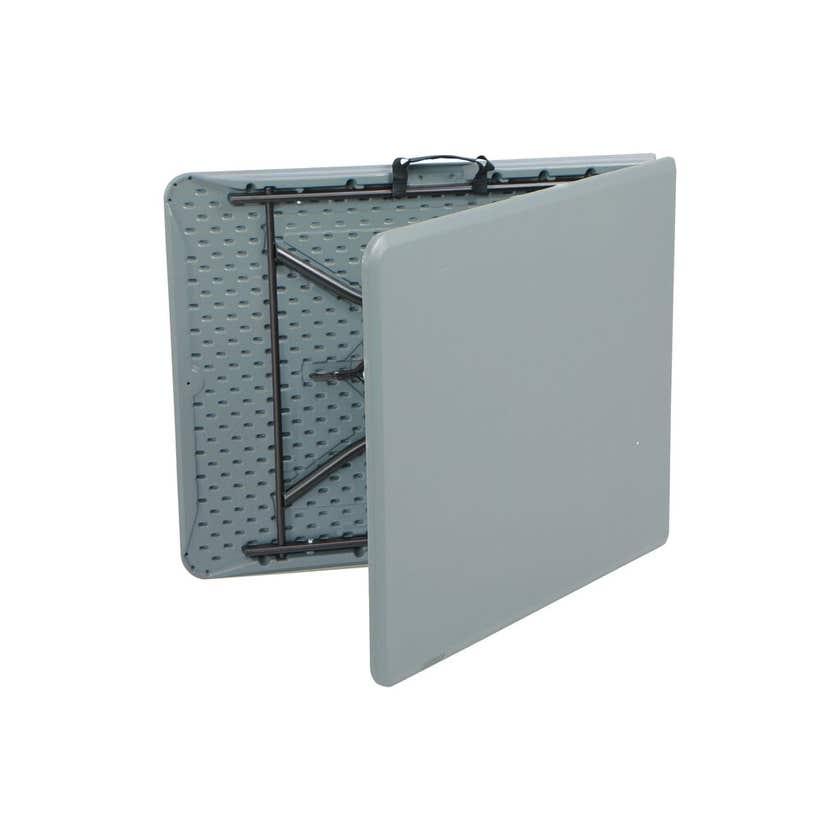 Lifetime Essential Bi-Fold Blow Mould Table 1.8m Grey