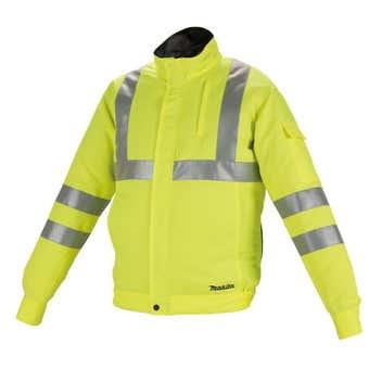 Makita 12V Max 18V High Visibility Fan Jacket