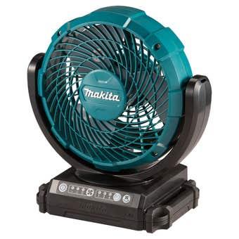 "Makita 12V Max 180mm (7"") Jobsite Fan with swing neck function Skin"
