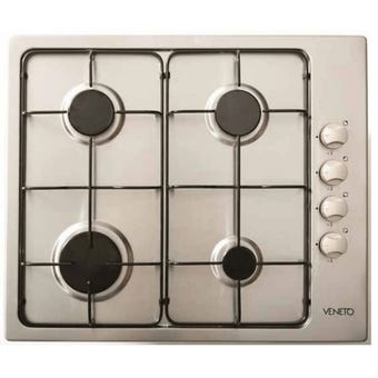 Veneto Gas Cooktop 4 Burner 600mm