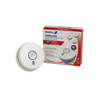 Quell Wireless Photoelectric Hall Smoke Alarm Voice Alert