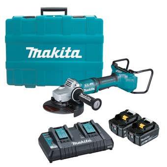 "Makita 18V x 2 Brushless AWS 180mm (7"") Angle Grinder Kit DGA701T2U1"