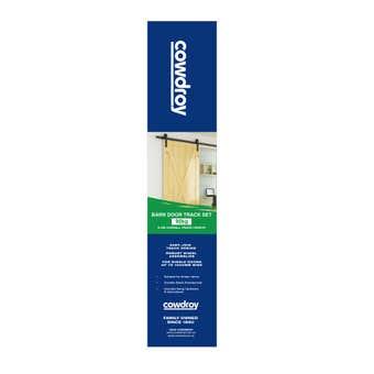 Cowdroy Barn Door Track Set Black 2000mm