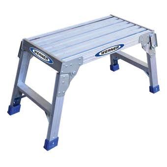 Werner Aluminium Compact Work Platform 100kg Domestic