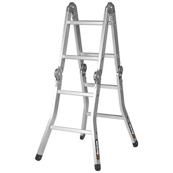 Hurricane™ 2.5m Multifold Ladder 120kg Industrial