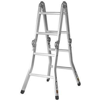 Hurricane 2.5m Multifold Ladder 120kg Industrial
