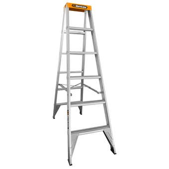 Hurricane Dual Punch 1.8m Double Sided Ladder 150kg Industrial