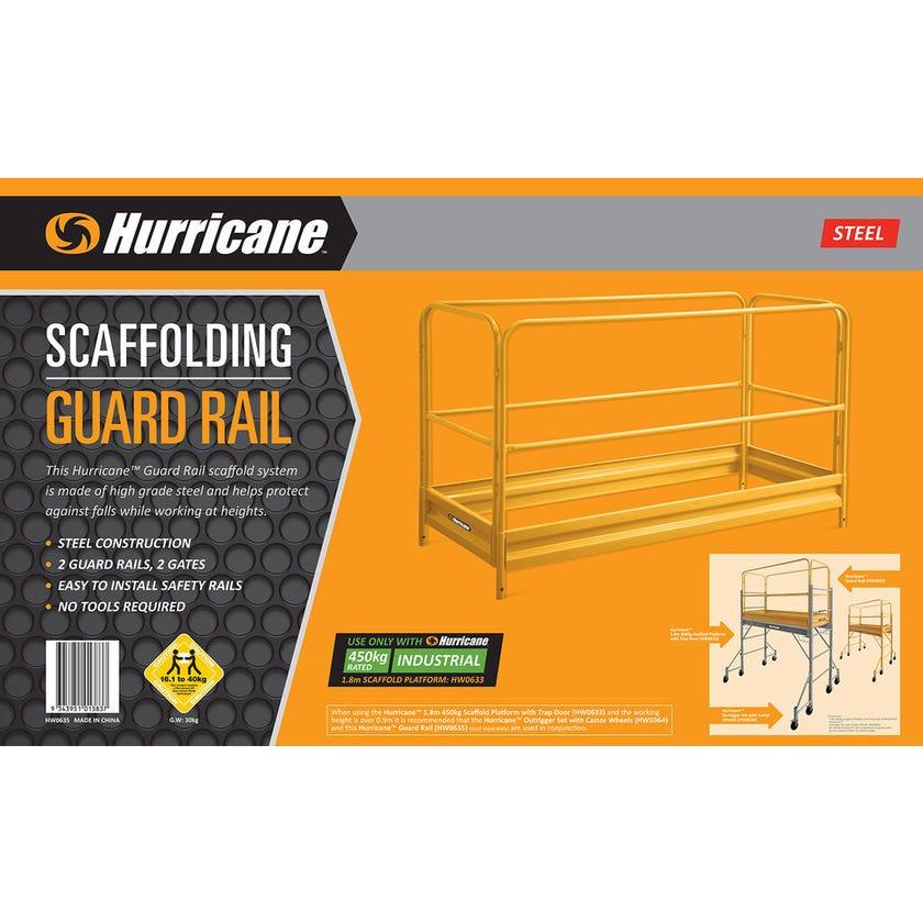 Hurricane™ Scaffold Guard Rail