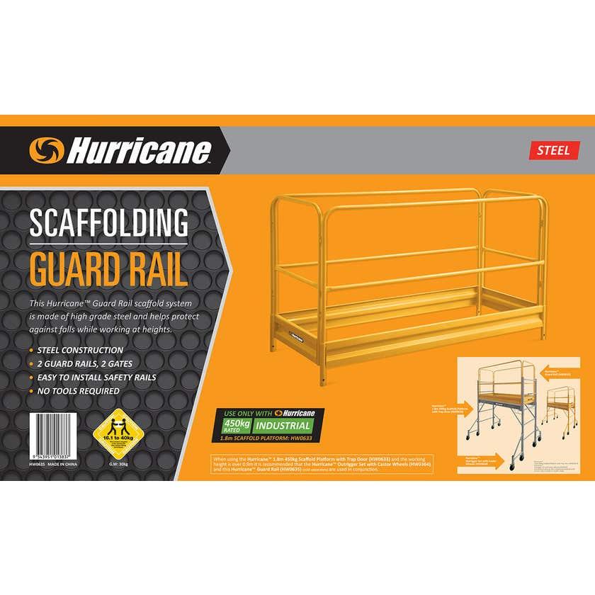 Hurricane Scaffold Guard Rail