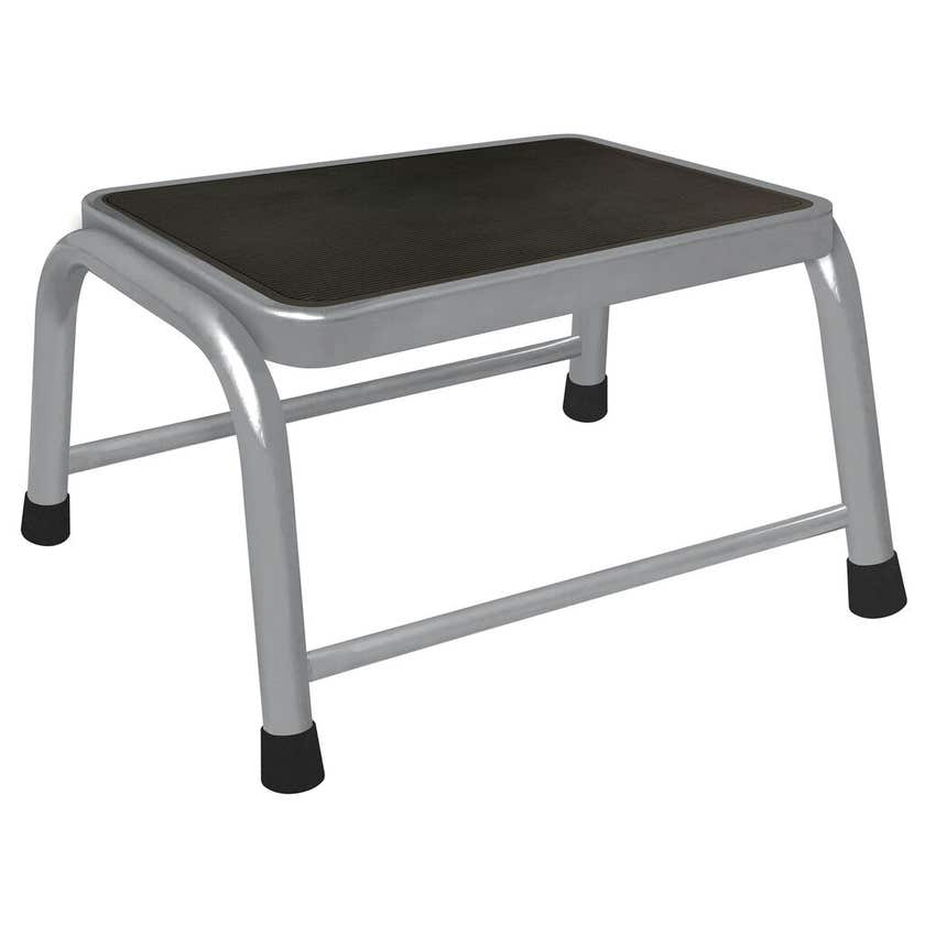 Faulkner™ 1 Step Stool Grey 100kg Domestic
