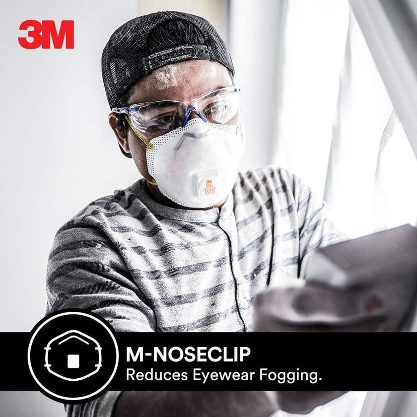 3M Cool Flow Sanding and Fiberglass Respirators - 2 Pack