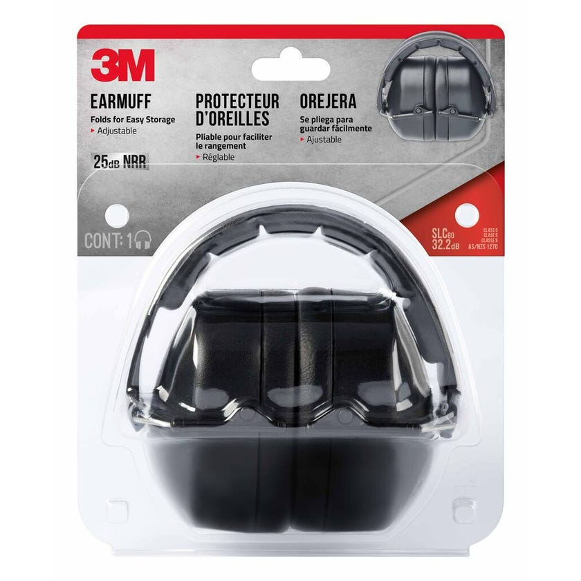 3M Folding Earmuffs