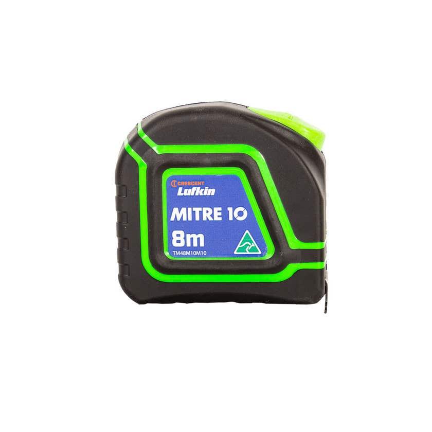 Crescent Lufkin Mitre 10 Trade MX Tape Measure 8m x 25mm