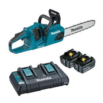 """Makita 36V (18V x 2) Brushless Chainsaw Kit 16"""" DUC405PT2"""