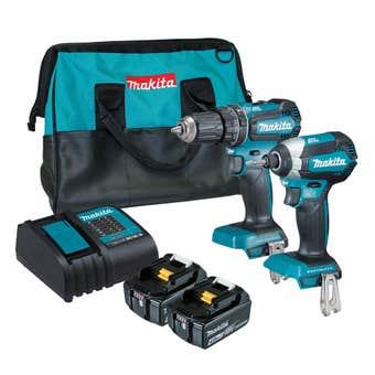 Makita 18V 4.0Ah Brushless Combo Kit - 2 Piece DLX2283SM