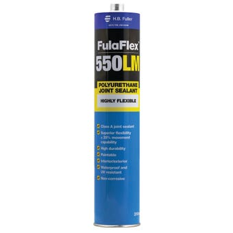 HB Fuller FulaFlex 550LM PU Joint Silicone Sealant Black 310ml
